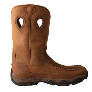 "Picture of heel of Men's Twisted X 11"" Pull-On Hiker Boot - WP MHKBW01"