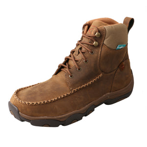 "Picture of front outside of Men's Twisted X Lace Up Safety Toe 6"" Work Hiker Boot MHKWC01"