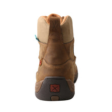 "Load image into Gallery viewer, Picture of inside of Men's Twisted X Lace Up Safety Toe 6"" Work Hiker Boot MHKWC01"