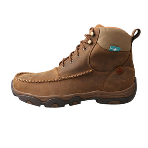 "Picture of front of Men's Twisted X Lace Up Safety Toe 6"" Work Hiker Boot MHKWC01"