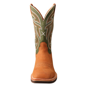 Picture of outside of Men's Twisted X Horseman Boot MHM0020