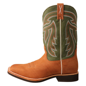 Picture of front of Men's Twisted X Horseman Boot MHM0020