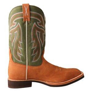 Picture of heel of Men's Twisted X Horseman Boot MHM0020