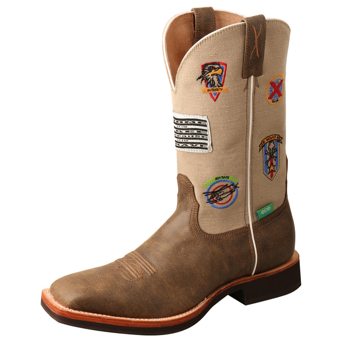 Picture of front outside of Men's Twisted X Horseman Boot MHM0021