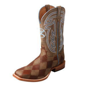 "Picture of front outside of Men's Twisted X 12"" Hooey Boot MHY0024"