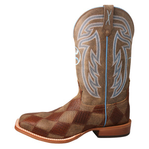 "Picture of front of Men's Twisted X 12"" Hooey Boot MHY0024"