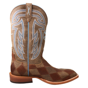 "Picture of heel of Men's Twisted X 12"" Hooey Boot MHY0024"