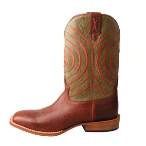 Picture of front of Men's Twisted X Hooey Boot MHY0028