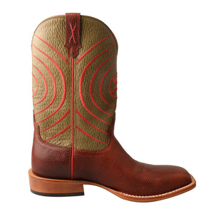 Picture of heel of Men's Twisted X Hooey Boot MHY0028