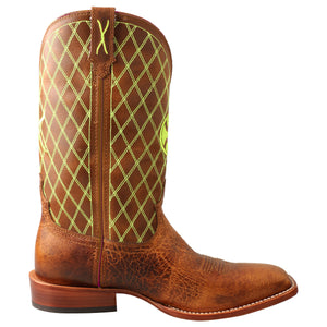"Picture of heel of Men's Twisted X 12"" Hooey Boot MHY0031"