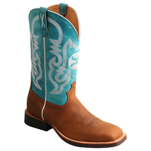 "Picture of front inside of Men's Twisted X 12"" Hooey Boot MHY0032"