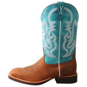 "Picture of front of Men's Twisted X 12"" Hooey Boot MHY0032"
