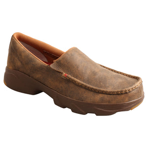 Picture of front inside of Men's Twisted X Slip-On Crossover MIE0001