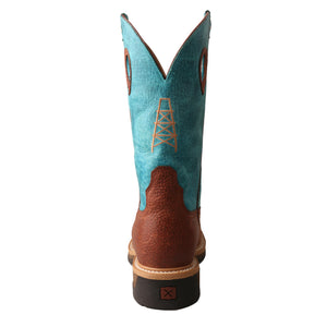 Picture of inside of Men's Twisted X Alloy Toe Lite Western Work Boot MLCA004