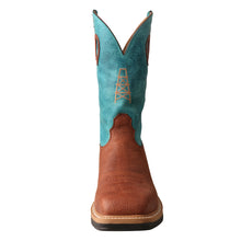 Load image into Gallery viewer, Picture of outside of Men's Twisted X Alloy Toe Lite Western Work Boot MLCA004