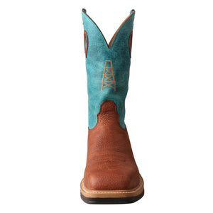 Picture of outside of Men's Twisted X Alloy Toe Lite Western Work Boot MLCA004