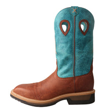Load image into Gallery viewer, Picture of front of Men's Twisted X Alloy Toe Lite Western Work Boot MLCA004