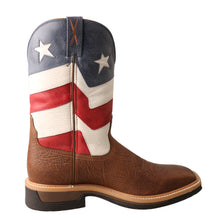 Load image into Gallery viewer, Picture of heel of Men's Twisted X VFW Alloy Toe Lite Western Work Boot MLCA007