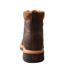 "Load image into Gallery viewer, Picture of inside of Men's Twisted X 6"" Alloy Toe Lite Western Work Lacer - WP MLCALW1"