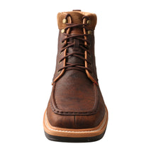 "Load image into Gallery viewer, Picture of outside of Men's Twisted X 6"" Alloy Toe Lite Western Work Lacer - WP MLCALW1"