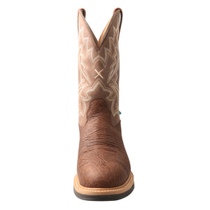 Picture of outside of Men's Twisted X Comp Toe Lite Western Work Boot - WP MLCCW03