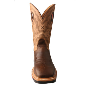 Picture of outside of Men's Twisted X Steel Toe Lite Western Work Boot MLCS019