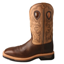 Load image into Gallery viewer, Picture of front of Men's Twisted X Steel Toe Lite Western Work Boot MLCS019