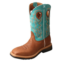 Load image into Gallery viewer, Picture of front outside of Men's Twisted X Steel Toe Lite Western Work Boot MLCS020
