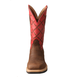 Picture of outside of Men's Twisted X Lite Western Work Boot - WP MLCWW04