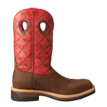 Load image into Gallery viewer, Picture of heel of Men's Twisted X Lite Western Work Boot - WP MLCWW04