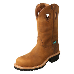 Picture of front outside of Men's Twisted X Logger Boot MLGCW01