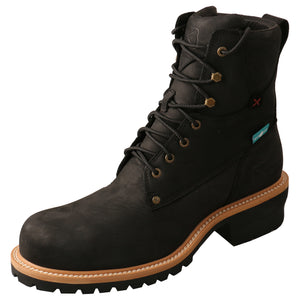 Picture of front outside of Men's Twisted X Logger Boot MLGCW02