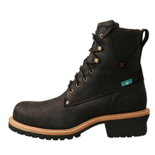 Load image into Gallery viewer, Picture of front of Men's Twisted X Logger Boot MLGCW02