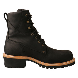 Picture of heel of Men's Twisted X Logger Boot MLGCW02
