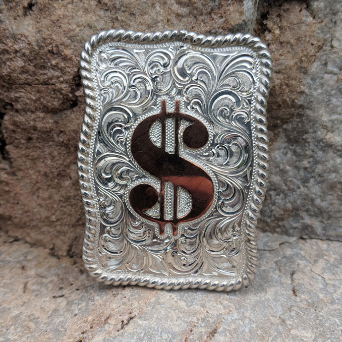 Western Money Clip Design MNC00001 by Loreena Rose