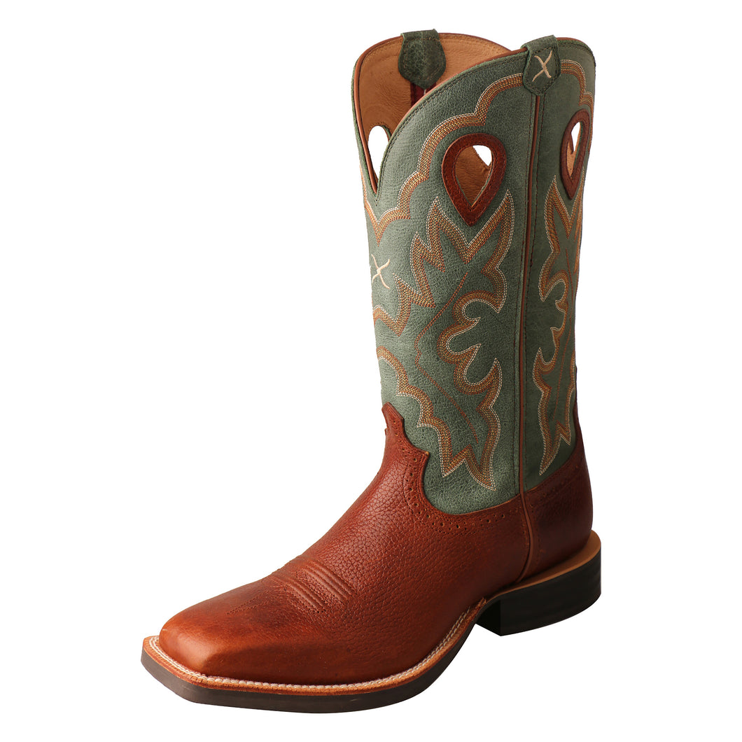 Picture of front outside of Men's Twisted X Ruff Stock Boot MRS0063