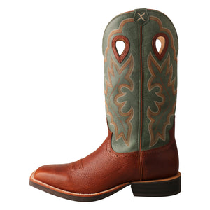 Picture of front of Men's Twisted X Ruff Stock Boot MRS0063