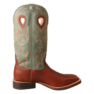 Picture of heel of Men's Twisted X Ruff Stock Boot MRS0063