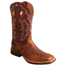 "Load image into Gallery viewer, Picture of front inside of Men's Twisted X 12"" Ruff Stock Boot MRS0065"