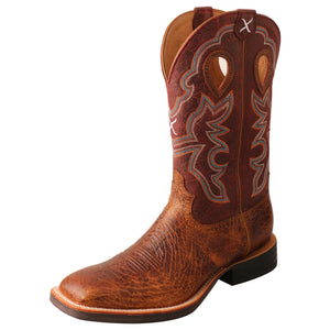 "Picture of front outside of Men's Twisted X 12"" Ruff Stock Boot MRS0065"