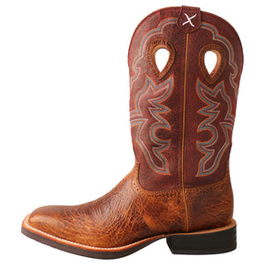 "Picture of front of Men's Twisted X 12"" Ruff Stock Boot MRS0065"