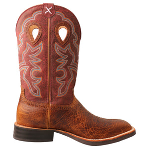"Picture of heel of Men's Twisted X 12"" Ruff Stock Boot MRS0065"