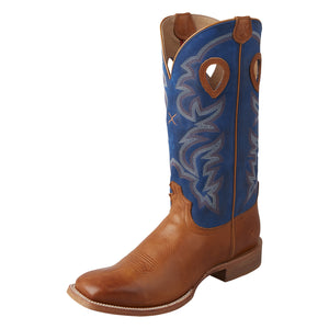 Picture of front outside of Men's Twisted X Ruff Stock Boot MRSL042