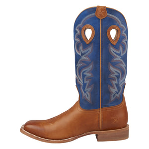Picture of front of Men's Twisted X Ruff Stock Boot MRSL042