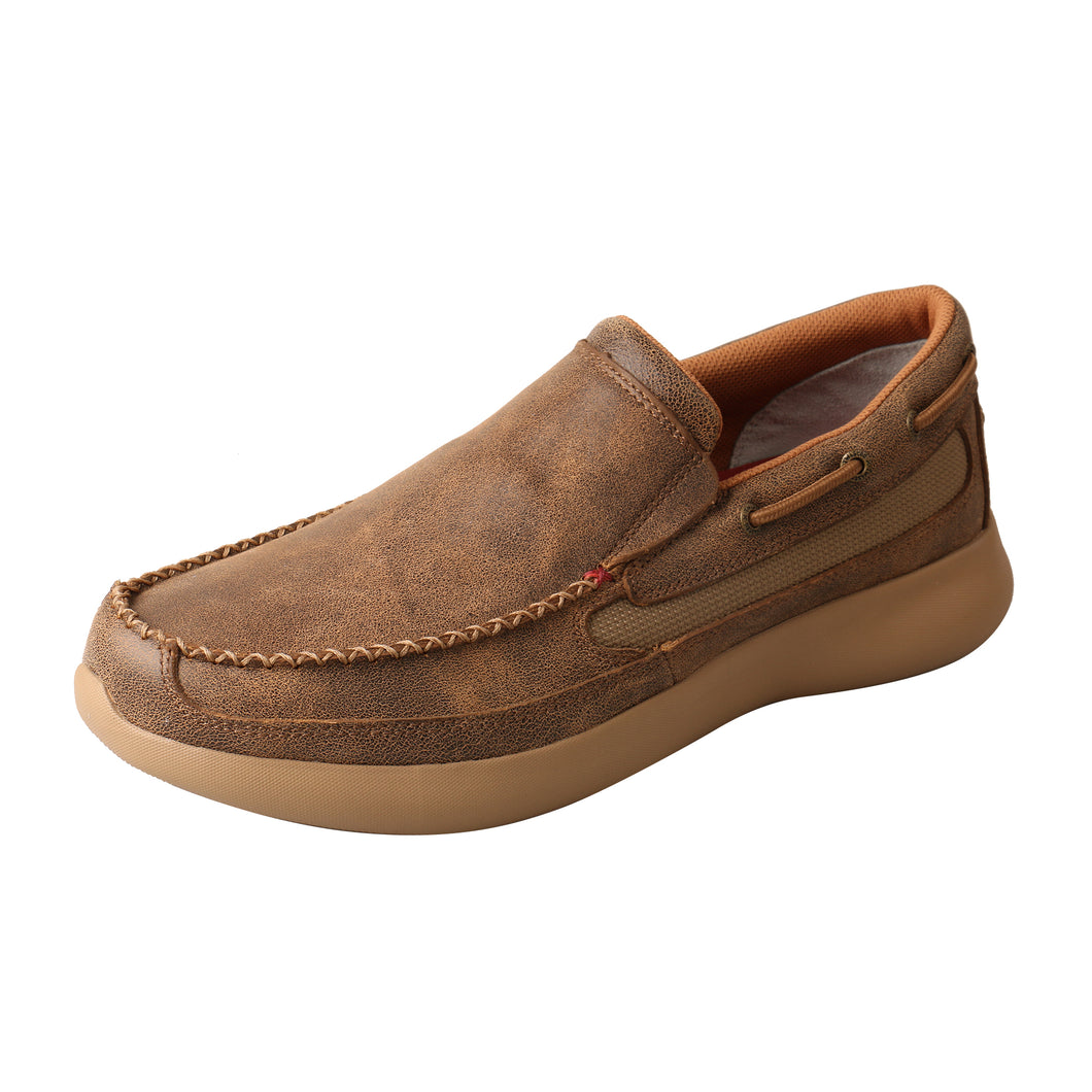 Picture of front outside of Men's Twisted X EVA12R Slip-On MRV0001