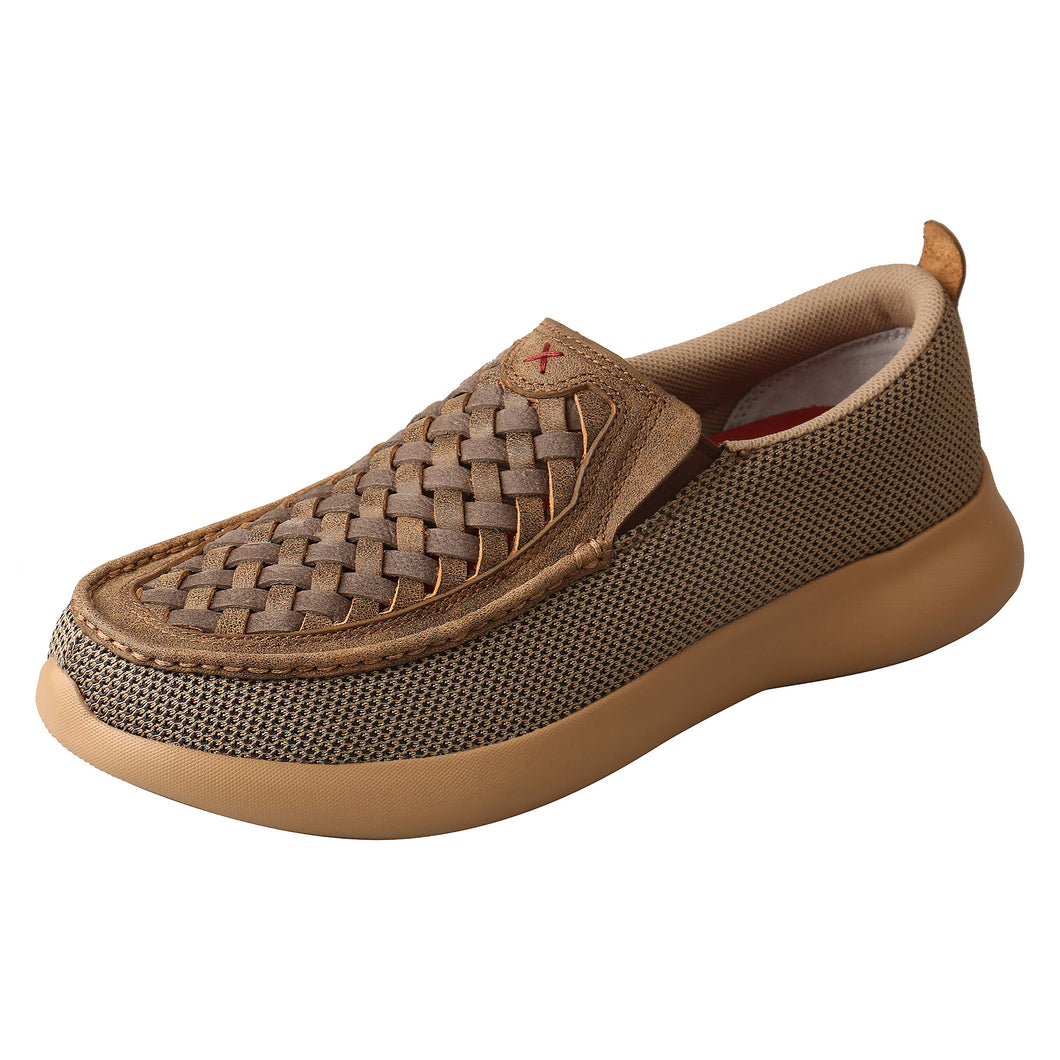 Picture of front outside of Men's Twisted X Slip-On EVA12R MRV0007