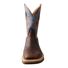 Load image into Gallery viewer, Picture of outside of Men's Twisted X Steel Toe Western Work Boot MSC0010