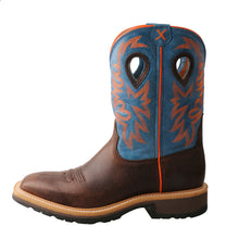 Load image into Gallery viewer, Picture of front of Men's Twisted X Steel Toe Western Work Boot MSC0010