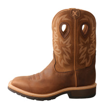 Load image into Gallery viewer, Picture of front of Men's Twisted X Steel Toe Western Work Boot MSC0011