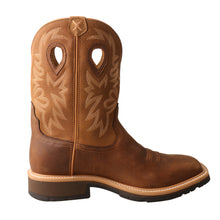 Load image into Gallery viewer, Picture of heel of Men's Twisted X Steel Toe Western Work Boot MSC0011
